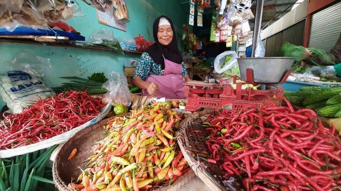 Harga Cabai Rawit Merah Di Pasar Tradisional Bantul Kian Pedas Tembus Rp 80 Ribu Kg Tribun Jogja