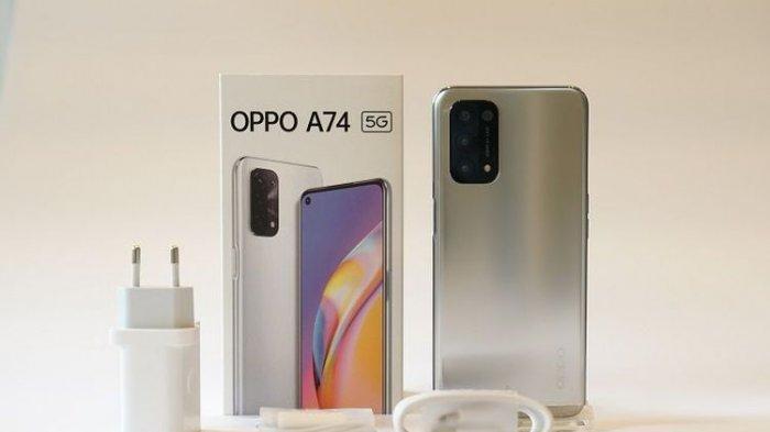 HARGA dan Spesifikasi Oppo A74 5G via e-commerce Indonesia