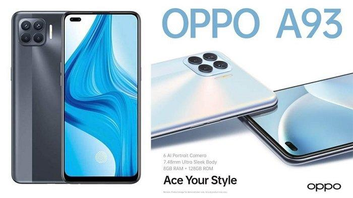 Harga dan Spesifikasi Oppo A93 yang Dilengkapi Chipset Helio P95
