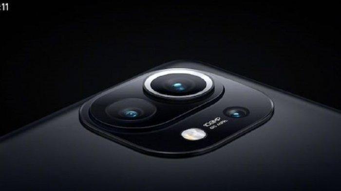 Desain baru modul kamera belakang Mi 11.
