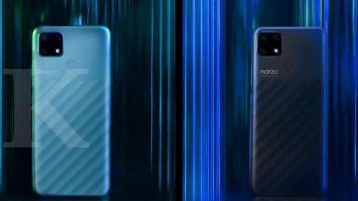 Harga dan Spesikasi Realme Narzo 30A, Dilengkapi Memori 4GB RAM + 64GB ROM