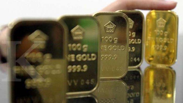 UPDATE Harga Emas Batangan dan Pergerakan Rupiah Senin 6 Juli 2020
