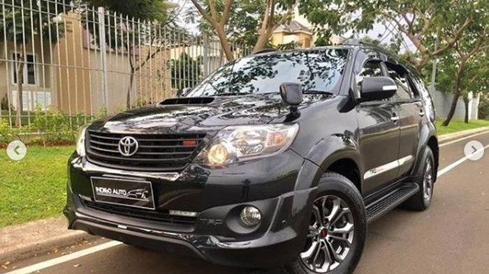 Harga Mobil Toyota Fortuner Bekas Mulai Rp100 Jutaan