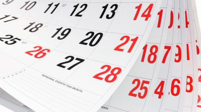 Jadwal dan Tanggal Libur Nasional Serta Cuti Bersama Tahun 2021