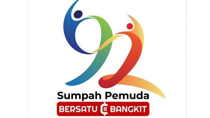 Makna Dua Insan Di Logo Peringatan Hari Sumpah Pemuda Ke 92 Tribun Jogja