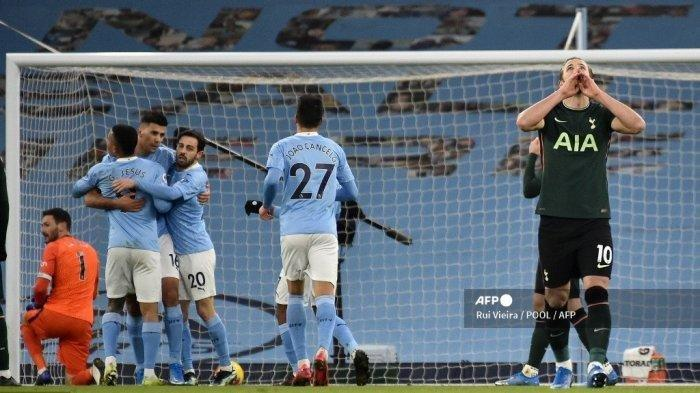 SIARAN Langsung Man City vs Tottenham, Link Streaming Final Piala Liga Inggris Malam Ini