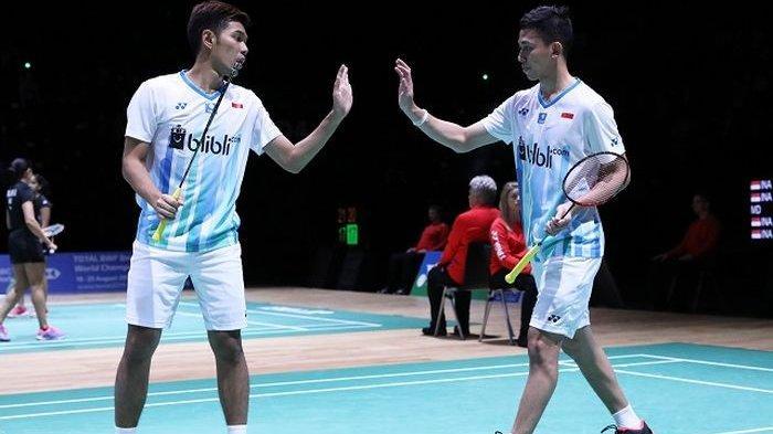 Jadwal dan Link Siaran Langsung Perempat Final Malaysia Master 2020, Marcus/Kevin vs Fajar/Rian