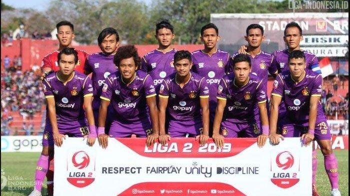 Hasil Liga 2 2019 - Gol Injury Time Bawa Persik Kediri Juara Liga 2, Bekuk Persita dengan Skor 2-3