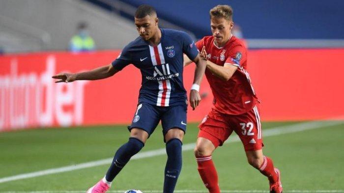 Hasil Pertandingan Babak Pertama Final Liga Champions PSG vs Bayern Munchen
