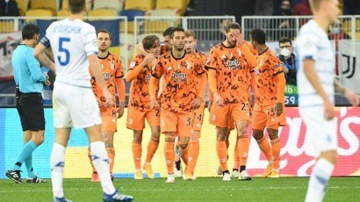 Juventus menang atas Dynamo Kiev