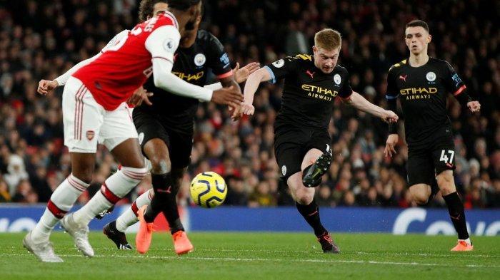MANCHESTER CITY vs ARSENAL: De Bruyne Pulih dari Cedera, Guardiola Justru Dilema