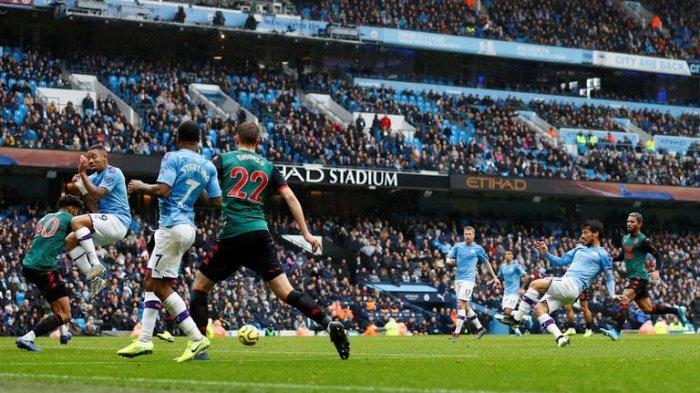 LINK Streaming Aston Villa vs Manchester City Liga Inggris Malam Ini di Mola TV