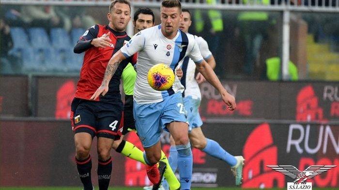 Hasil Liga Italia : Lazio Tumbangkan Genoa, Tempel Ketat Juventus di Puncak Klasemen Sementara