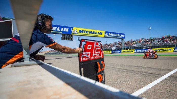 Jadwal Moto GP Aragon: Menanti Penebusan Marc Marquez dan Debut Vinales - Morbidelli