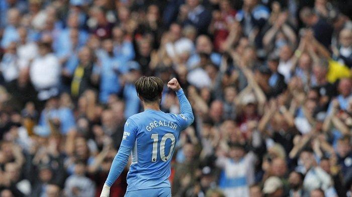 Man City 5-0 Norwich: Guardiola Sebut Syarat bagi Grealish untuk Samai Sterling
