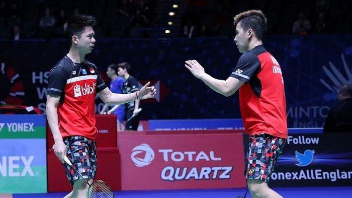 Malaysia Open 2019 : Marcus/Kevin Tembus Perempat Final Usai Tumbangkan Wakil Jepang