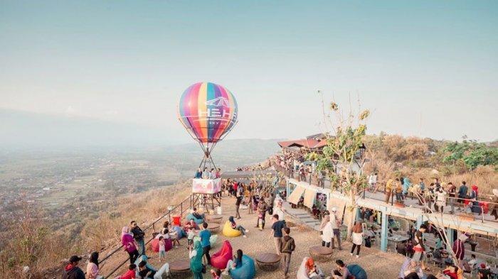 Heha Sky View Destinasi Wisata Baru Gunung Kidul Melihat Jogja Dari Ketinggian Tribun Jogja