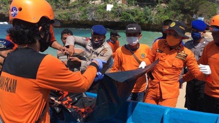 Hilang Sejak Kemarin, Jasad Nelayan di Tebing Kesirat Berhasil Ditemukan