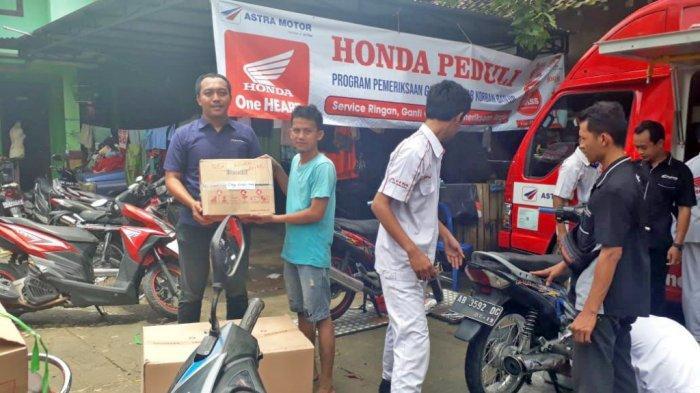 Honda Berikan Servis dan Ganti Oli Gratis Dukung Pemulihan Paska Banjir Bantul