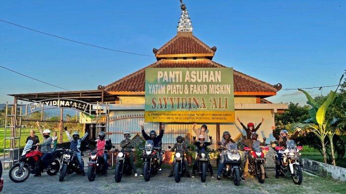 Honda Big Bike Yogyakarta Serahkan Donasi ke Panti Asuhan