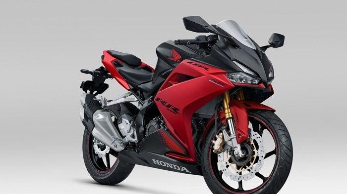 Honda CBR250RR bravery red black.