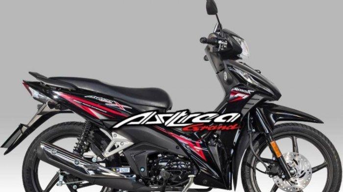 Honda Yunani Bangkitkan Nama Motor Legendaris Indonesia, Astrea Grand