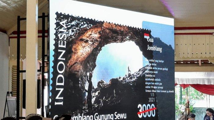 HUT Ke-190 Gunungkidul, Prangko Edisi Geopark Gunung Sewu Diluncurkan
