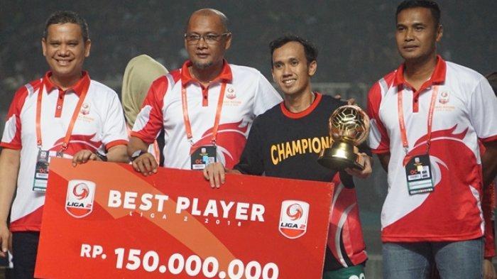 PSS Sleman Ditinggal Ichsan Pratama, Sang Motor Serangan Peraih Gelar Pemain Terbaik Liga 2 2018