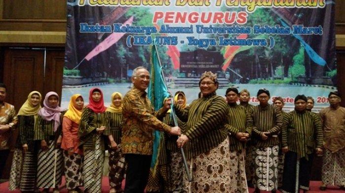 Pengurus IKA UNS Chapter Yogyakarta Dikukuhkan di Hotel Tentrem