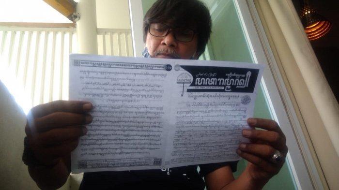 Ikut Serta Upaya Pelestarian, Pria Betawi Ini Menginisiasi Bulletin Jumat Beraksara Jawa