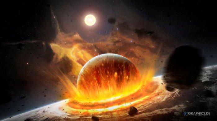 Bikin Ngeri, Ternyata Ini Arti Mimpi Kiamat Akibat Bumi dan Bulan Bertabrakan