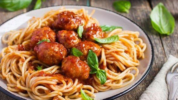 Ini Dia Resep Spaghetti Meatball Kesukaan Anak-anak, Cocok Juga Buat yang Bosan Makan Nasi