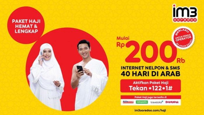 IM3 Ooredoo Luncurkan Paket Komunikasi Haji Hemat Mulai Rp200.000