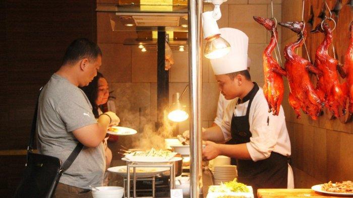 Keseruan Imlek Dinner di Hotel Santika Premiere Jogja