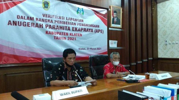 Indeks Pembangunan Gender Kabupaten Klaten 2020 di Atas Nasional, Capai 96,17 Persen