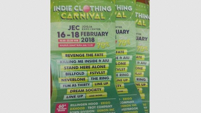 Hadirkan Puluhan Distro Ternama, Indie Clothing Carnival Akan Kembali Digelar di JEC
