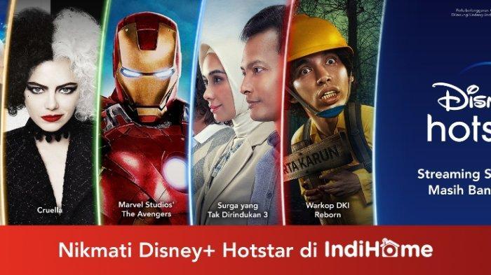 IndiHome Bersama The Walt Disney Company Hadirkan Dunia Penuh Imajinasi di Disney+ Hotstar