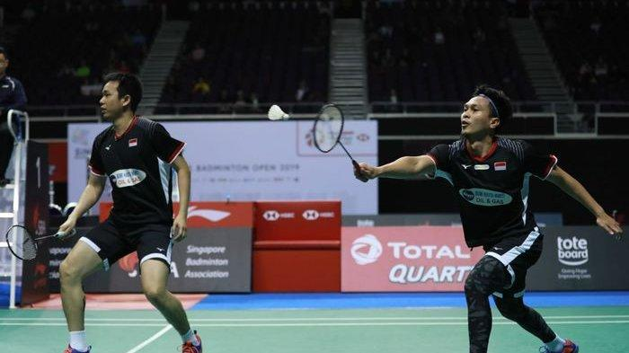 Indonesia Open 2019 : Faktor Usia, Hendra Ahsan Hanya Targetkan Tembus Semifinal