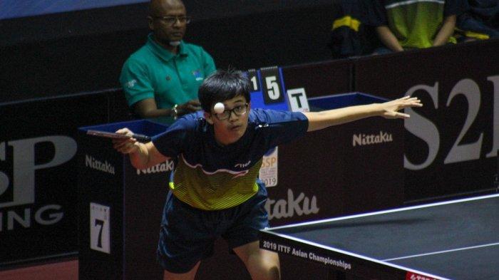 Indonesia Takluk di Partai Pembuka SSP 24th ITTF Asian Table Tennis Championship 2019