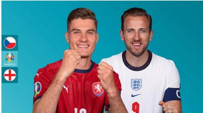 Siaran Tv Euro Malam Ini CEKO Vs INGGRIS: Dua Pemain Chelsea Diragukan Tampil