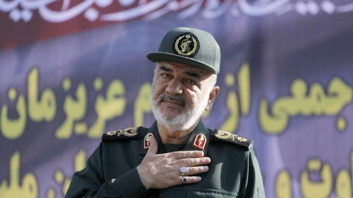 Ini Kelemahan Israel Menurut Komandan Garda Revolusi Iran Mayor Jenderal Hossein Salami