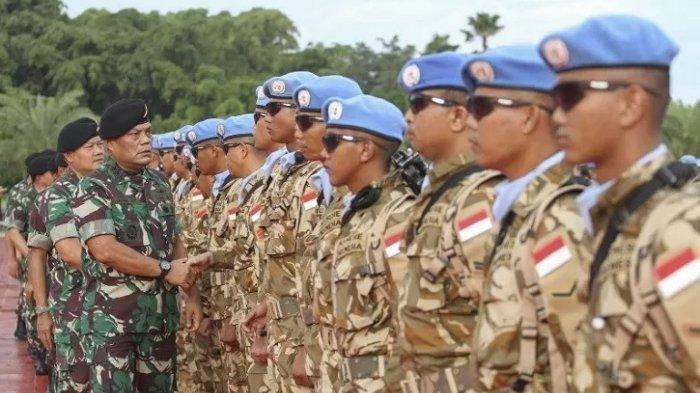 Ini yang Dilakukan Prajurit TNI Hingga Buat 32 Milisi Paling Dicari di Kongo Menyerahkan Diri