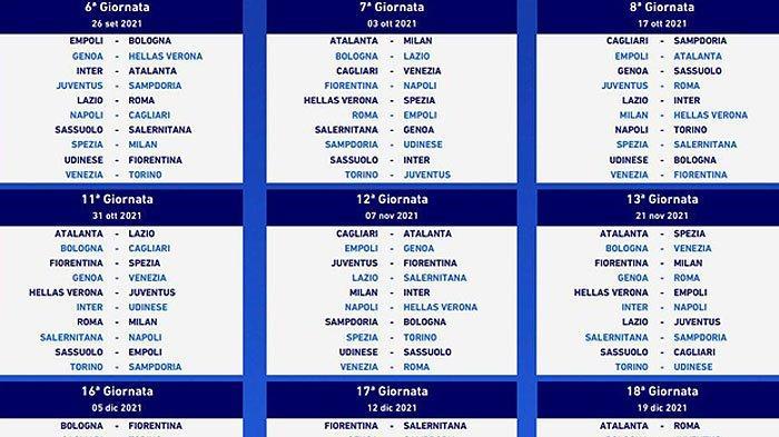 Inilah Jadwal Derby AC Milan vs Inter Milan Musim Liga Italia Serie 2021/2022
