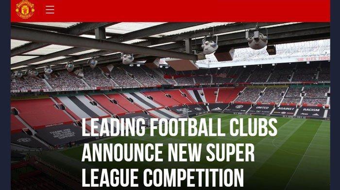 Inilah Klub Peserta SUPER LEAGUE, Chelsea, AC Milan, Inter, Juventus, MU, Liverpool