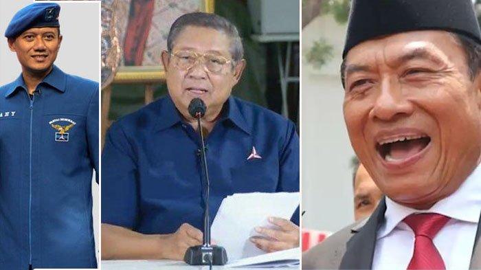 Inilah Komentar SBY, Moeldoko dan AHY Soal Partai Demokrat