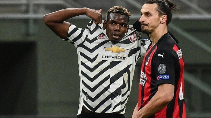 Inilah Rating Pemain AC Milan vs Man United yang Berakhir 0-1, Pogba vs Zlatan