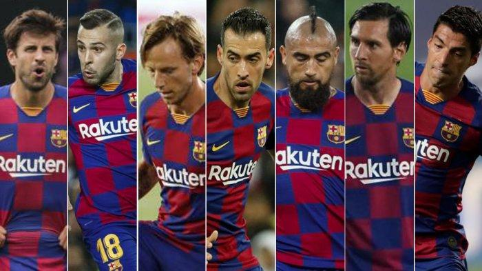 Inilah Tujuh Pemain Tua Tim Inti Barcelona, Siapakah yang Bakal Aman?