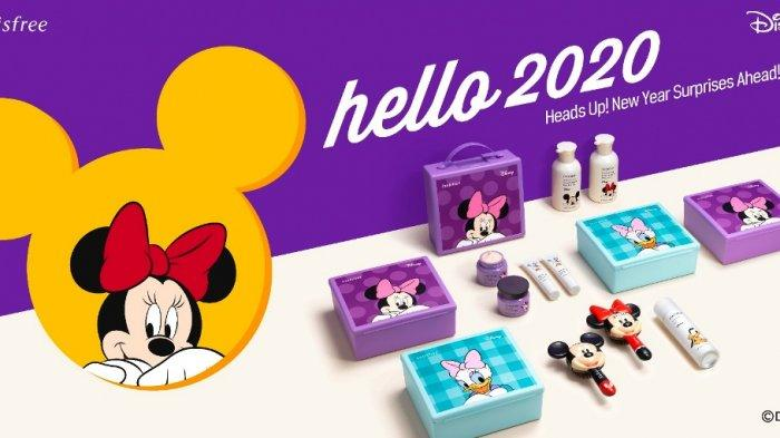 Sambut Tahun Baru, Innisfree Hadirkan HELLO 2020 Disney Collection Limited Edition