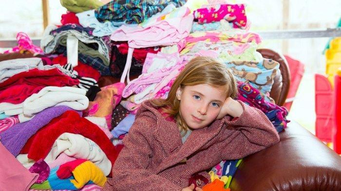 Inspirasi Mengelola Pakaian Bekas Anak