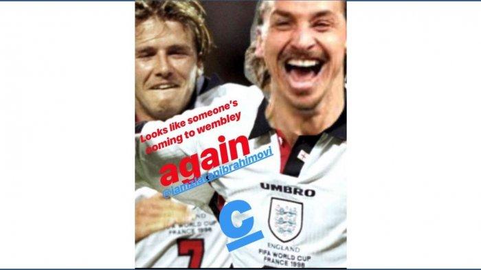 Taruhan Beckham vs Ibrahimovic : Akhirnya Beckham Tak Perlu Belikan Ibrahimovic Perabotan Rumah